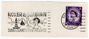 I-B-Elizabeth-II-Postal-Slogan-Postmark-Roker-amp-Seaburn