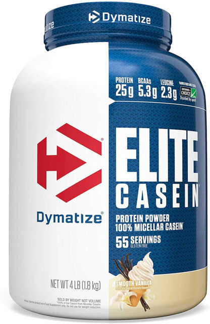 Dymatize Elite Casein Protein Powder Slow Absorbing with Muscle Building Amino eBay