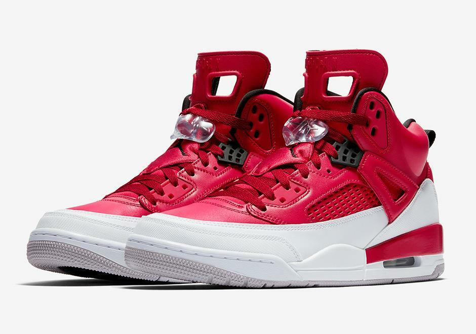 AIR AIR AIR JORDAN SPIZIKE SPIKE LEE 315371 603 GYM rosso nero-bianca-WOLF grigio - LEATHER 1d37f3