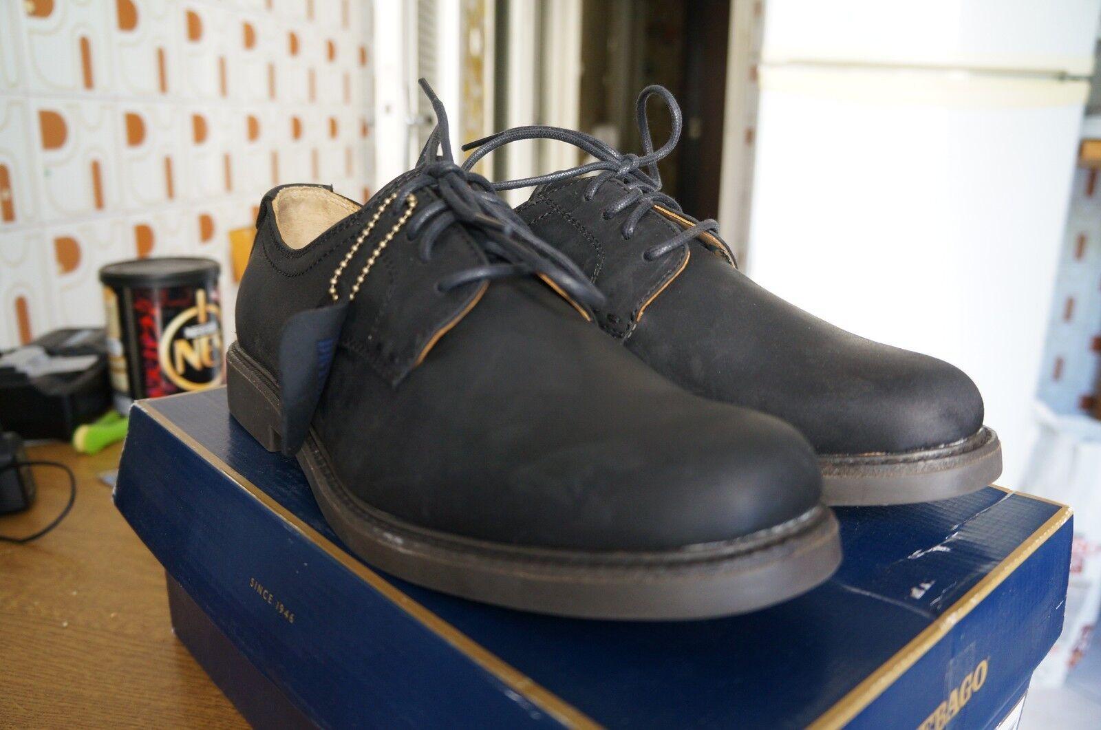 Sebago Turner Lace Up, Schuhe Stringate Basse Oxford - Uomo, noir 43.5 EU - Oxford 0262a3