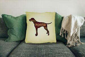 Pointer-Dog-Cushion-Cover-Big-45x45cm-18-034-x18-034-Dog-Xmas-Gift-Choose-your-Design