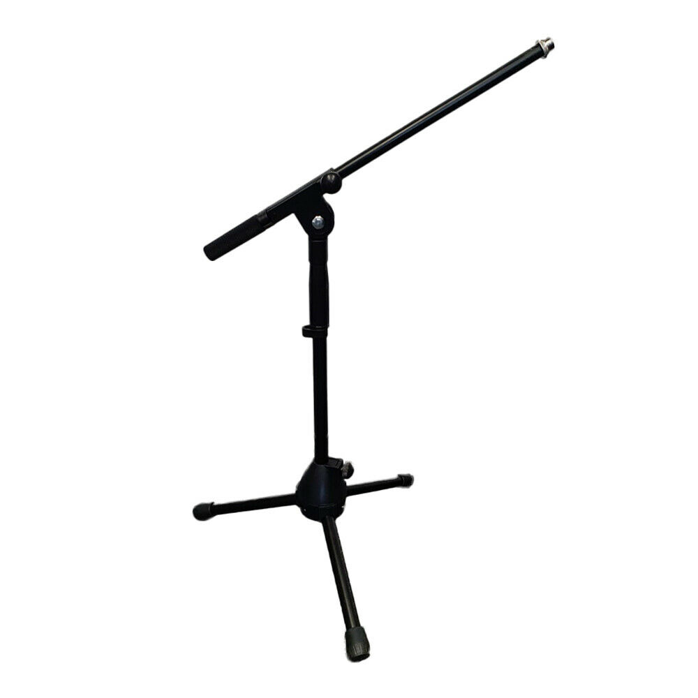 Thor MS004 Short Tripod Microphone Stand Black Adjustable Musician Drum Guitar