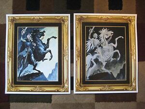 """11/"""" x 17/"""" Disney Haunted Manson Collector/'s Poster Print"""