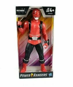 """Power Rangers RED RANGER 9"""" Action Figure 2018 by Hasbro (NEW IN PACKAGE)"""