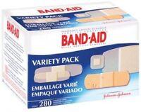 Johnson And Johnson 4711 Bandage Assorted Sizes Variety Pack 280 Bandages