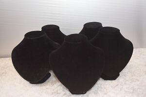 platillos-bisuteria-lot-de-9-bustos-para-collares-terciopelo-negro