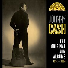JOHNNY CASH - THE ORIGINAL SUN ALBUMS 1957-1964  8 CD NEU