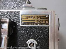 RARE 'BOLEX LOGO PLATE BADGE' for VERY EARLY BOLEX 16mm movie camera body.