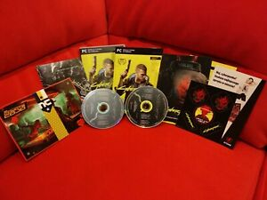 CYBERPUNK 2077 ORIGINAL GAME SOUNDTRACK 2CD SCORE OST MAP POSTER POLISH VERSION