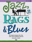 Jazz, Rags & Blues, Bk 4  : 9 Original Pieces for the Late Intermediate Pianist, Book & CD by Scott Price (Paperback / softback, 2010)