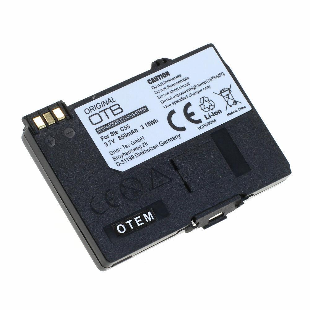 Bateria F siemens c55 750mah Li-ion
