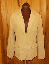 MAINE Debenhams golden sand beige corduroy blazer jacket winter coat 14 42