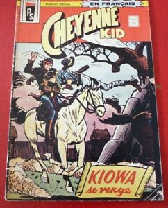 Soft-Cover-French-Heritage-Comic-Cheyenne-Kid-No-1