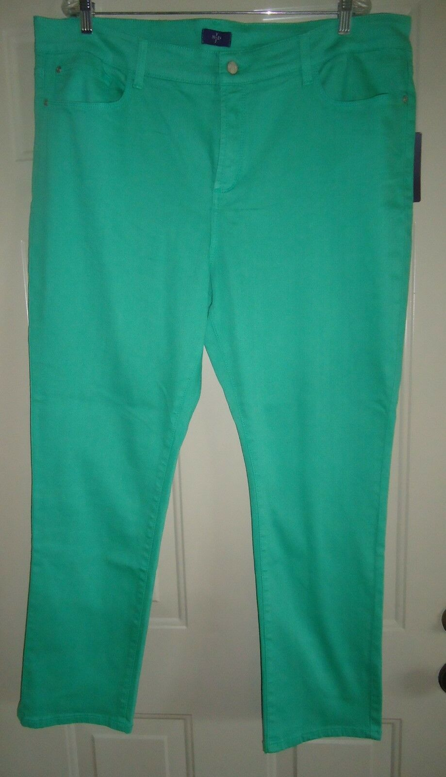 NWT-NYDJ NOT YOUR DAUGHTER'S JEANS green denim jeans pants sz 20W-NEW  F S