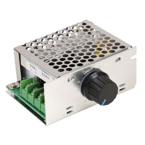 Domybest Drehzahlregler für Bürstenmotoren 500 W AC 220 V DC 10 – 210 V Spa
