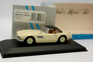 Minichamps-1-43-BMW-507-Cabrio-Creme-Hard-Top