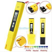 Pocket Digital PH Meter Tester Aquarium Pool Water Wine Urine LCD Pen Monitor