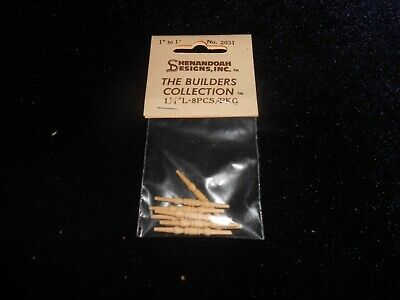 Dollhouse vintage 1:12 Shenandoah building components furniture turnings