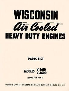 WISCONSIN-V-461D-V-460D-Air-Cooled-Engines-Parts-Manual