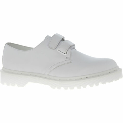 DR MARTENS Women's  LAUREEN White Leather Shoes, Venice UK5/EU38  UK7/EU41