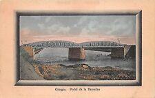 B78287 giurgiu  podul de la ramadan  romania