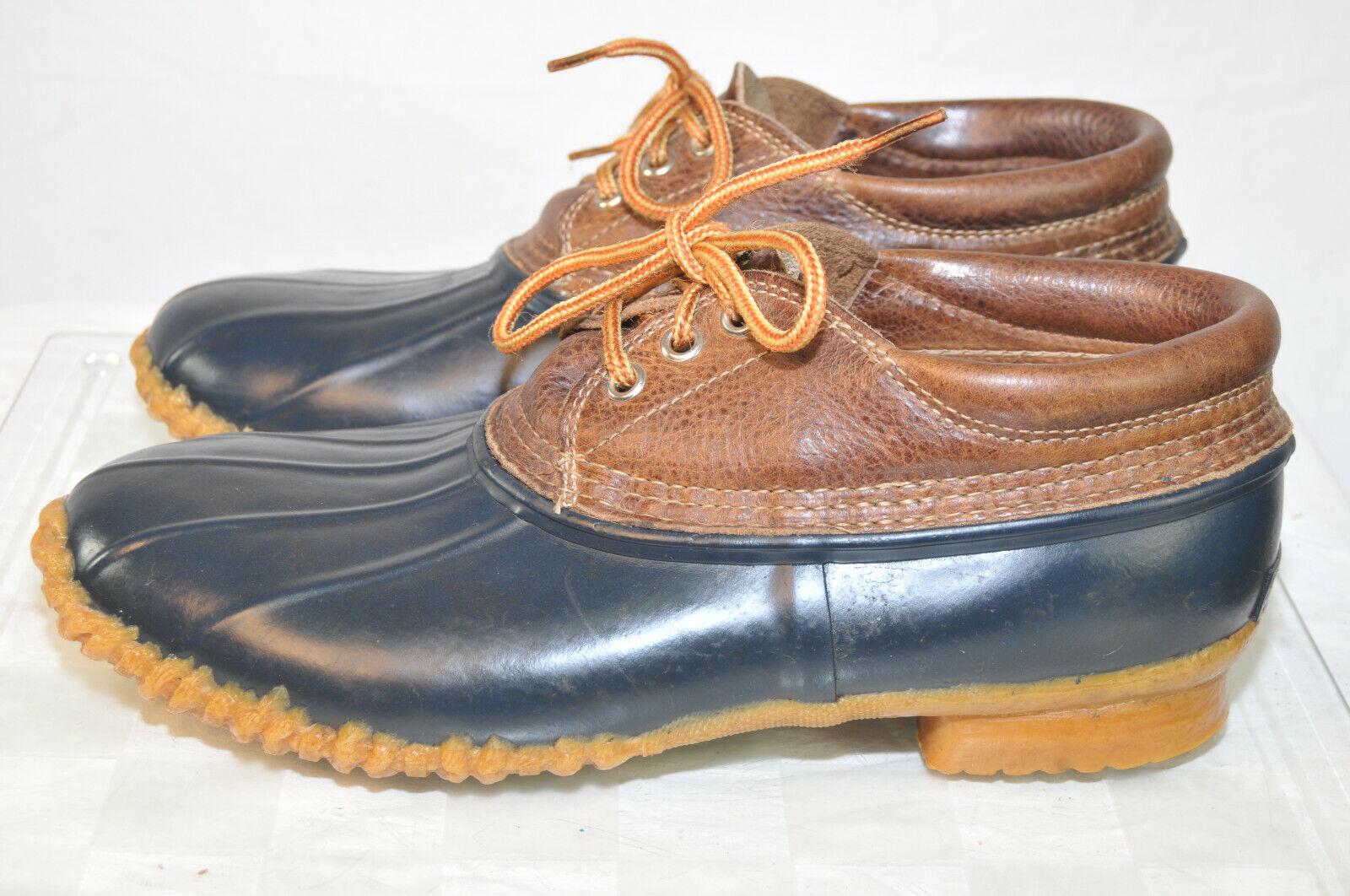 Vintage Eddie Bauer läder & Gummi Ankle Mocasin Mocasin Mocasin Boot for kvinnor Storlek 10M  köpa rabatter