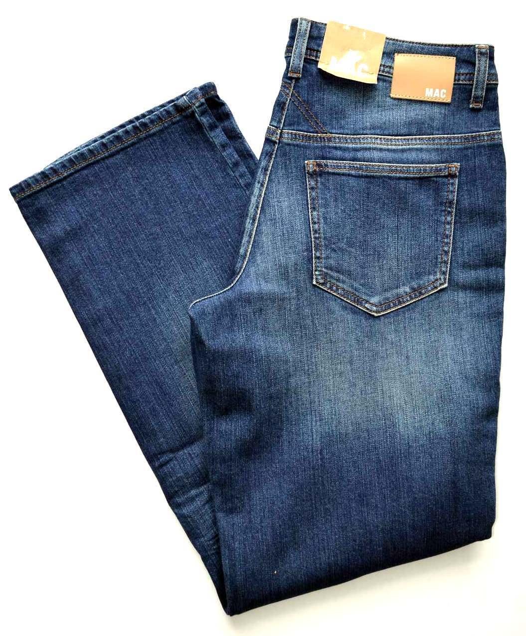 MAC Jeans GRACIA Blau Denim Stretch blau comfort loose fit Gr.36 NEU
