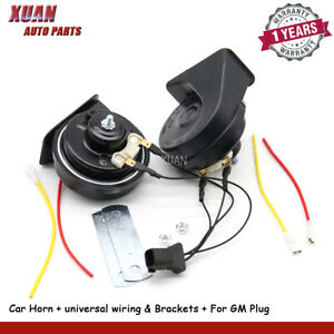 Car-Horns-12V-For-Chevrolet-Trax-Buick-Regal-Lacrosse-GMC-Envoy-Canyon-Sierra