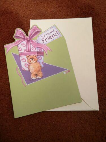 """Lovely /""""Special friend/"""" Carte d/'anniversaire-prix réduits avec Free p/&p"""