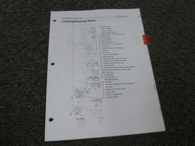 Kawasaki 65zv Loading Steering Hydraulic Line Electrical