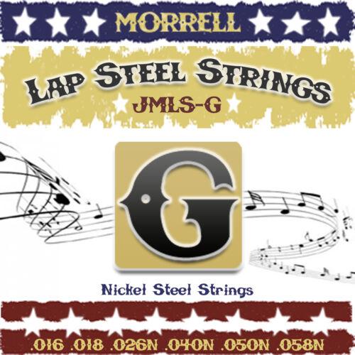 Morrell JMLS-G Premium Lap Steel Guitar Strings G-Tuning 16-58