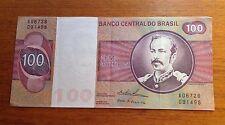 100  CRUZEIROS BANCO CENTRAL DO BRASIL A06726 091496
