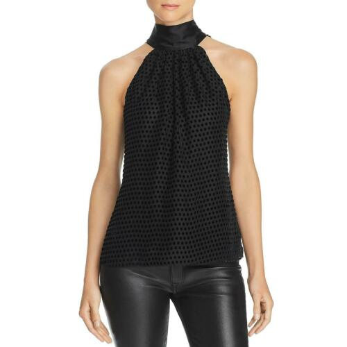Ramy Brook Womens Paige Silk Blend Halter Cami Shell Top BHFO 9155