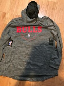 Details about Nike NBA Chicago Bulls Spotlight Hooded Jacket Sz M NWT 940951 091 Basketball