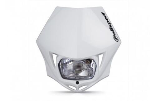 DOT Approved Polisport MMX Universal White Headlight 75-866-3SW  8663500001