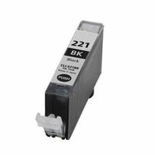 1 PHOTO BLACK NEW INK FOR CANON CLI-221-BK CLI221BK CLI221-BK CLI-221 CARTRIDGE