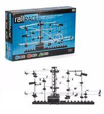 SPACE RAIL RACE 5.5m Track Auto Marble Run Toy Game Boys Girls Birthday Gift UK