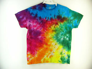 Tie Dye T Shirt Crinkle Toddler Handmade Tye Die 100 Cotton 2T 3T 4T