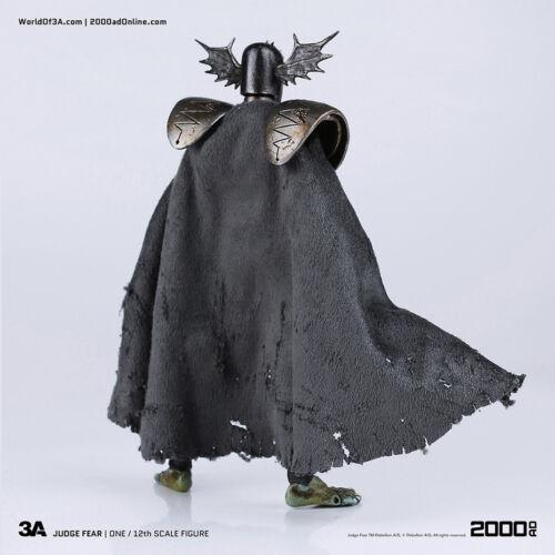 Giudice Dredd 2000 AD JUDGE FEAR 1:12 Scale Action Figure Threezero 15cm