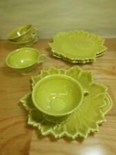 4 Leaf Design Snack Sets Woodfield by Steubenville in Golden Fawn