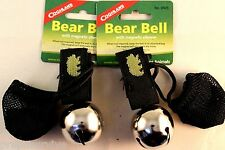 2 PK BEAR BELL SILVER-INCLUDES SILENCER REPELS MANY UNWANTED PREDITORS KEEP SAFE