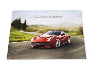 2012 Ferrari F12 Berlinetta Händler Dealer Poster 68 98cm 4273 12 Ebay