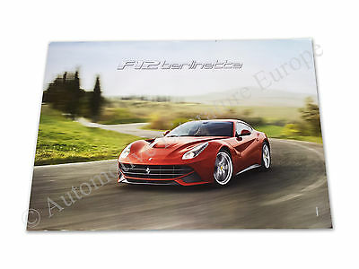 Freundschaftlich 2012 Ferrari F12 Berlinetta HÄndler Automobilia Dealer Poster 68*98cm 4273/12