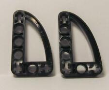 LEGO Lot of 4 Dark Bluish Gray 3x5 Quarter Ellipse Thin Technic Liftarm Parts