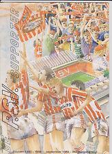Programme / Magazine De PSV Supporter September 1993 34e jaargang no. 2