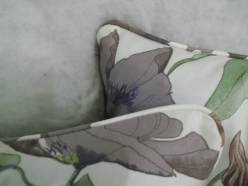 A/&r swaffer tissu clematis vibrant 100/% coton tissu 16 pouces housses de coussin