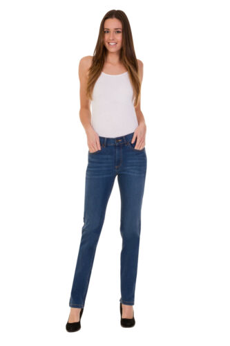 Ex M/&S Mid Rise Ladies Women/'s Lift Stretchy Jeans Pants Size 6-24 Marks Spencer
