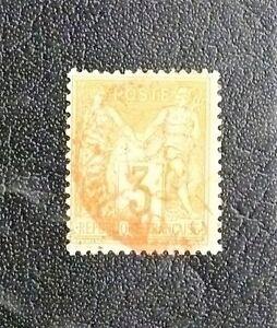 timbres-de-france-TYPE-SAGE-3-CENTIMES-N-86-Oblitere-C-a-D-DES-IMPRIMES-ROUGE