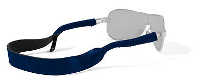 Croakies Solid Color Navy Sunglass Sport Retainer NEW FREE SHIPPING