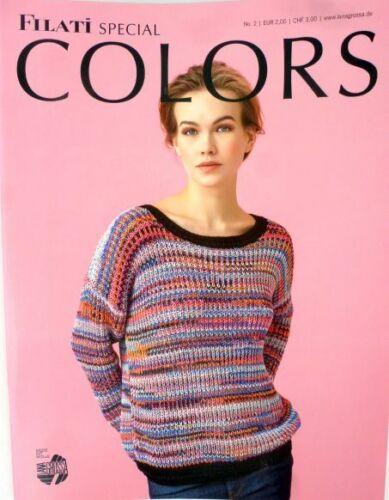 LANA GROSSA Filati Special Colors No.2 luftig gestrickt aus neuen Garnen